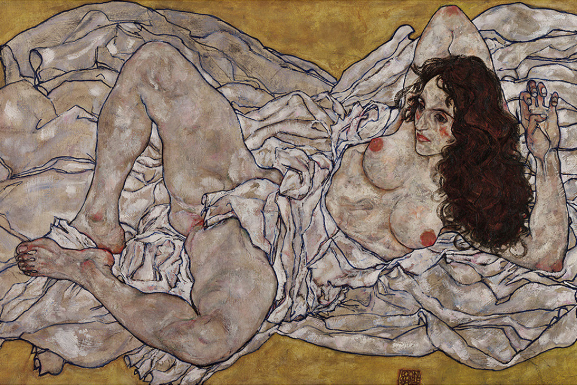 the radical nude Egon Schiele